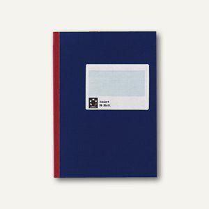 officio Kladde SB, DIN A6, liniert, 96 Blatt, blau