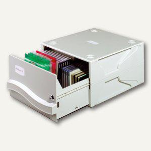 Durable MULTIMEDIA BOX II, für verschiedene Datenträger, grau, 5257-10