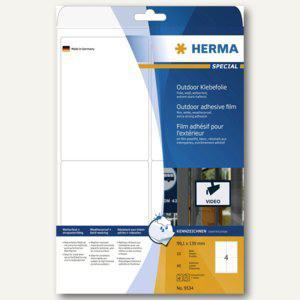 Herma Outdoor-Etikett, temperaturbeständig, 99.1 x 139 mm, 40 Stück, 9534 - Vorschau