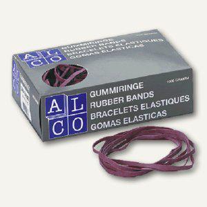 Alco Gummibänder, 100 x 5 mm, 1000g/Karton, 759 - Vorschau
