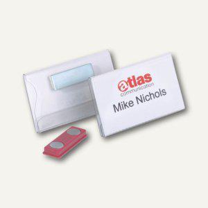 Durable Namensschild mit Magnet, 75 x 40 mm, transparent, 25 Stück, 8116-19 - Vorschau