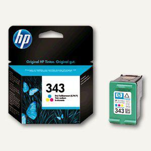 HP Tintenpatrone Nr. 343 color, 7 ml, C8766EE - Vorschau