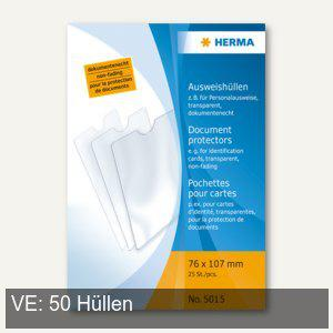 Herma Ausweishüllen 76 x 107 mm, für Personalausweise, 50 Stück, 5015 - Vorschau