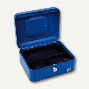 officio Geldkassette mit Münzeinlage, 15 x 78 x 20 cm, blau - Vorschau