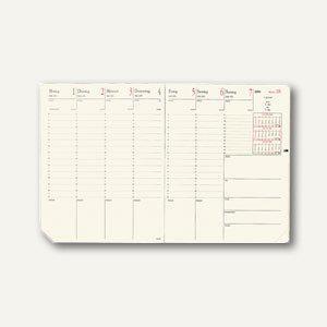 """Quo Vadis """" Pre Prestige"""" Terminkalender-Einlage - 21 x 27 cm, elfenbein, 287003Q - Vorschau"""
