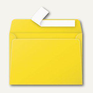 Clairefontaine Briefumschlag DIN C6, haftklebend 120 g/m², sonne, 20 Stück, 5566C - Vorschau