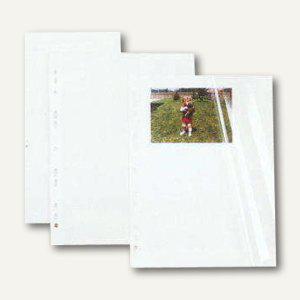 Hagee Selbstklebende Foto-Einlagen DIN A4, weiß, 100er Pack, 75E/10 - Vorschau