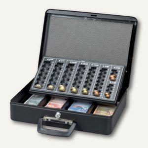 MAUL Geldkassette mit Euro-Zähleinsatz, 37.0 x 29.0 x 12.0 cm, schwarz, 5631690 - Vorschau