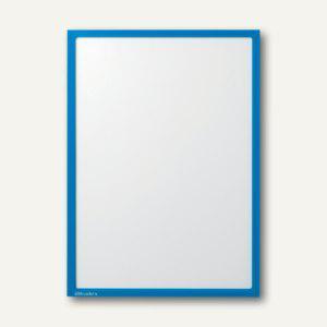 Ultradex Infotasche DIN A4, hoch/quer, magnethaftend, blau, 5 Stück, 889007 - Vorschau