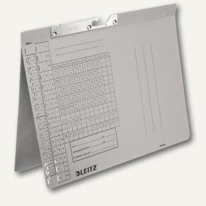 LEITZ Pendelhefter, DIN A4, 250 g/qm, Amtsheftung, grau, 50 Stück, 2094-00-85 - Vorschau