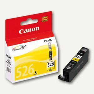 Canon Tintenpatrone CLI-526Y, ca. 520 Seiten, gelb, 4543B001 - Vorschau