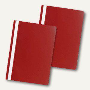 officio Schnellhefter DIN A4, PP, rot, 50er Pack, 312699 - Vorschau