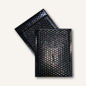 Geschenk-Luftpolstertaschen 170 x 245 mm, haftklebend, schwarz metallic, 100 St. - Vorschau