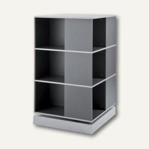 "Moll Rotafile Quadrat-Säule "" Squarefile"", 3 Etagen, graphit, 417443 - Vorschau"