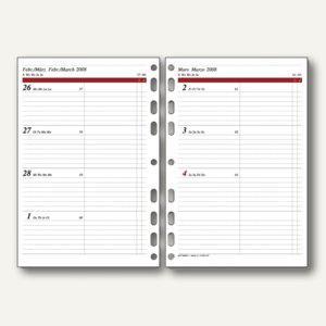 rido-idé Dohse ide Timing 1 Kalendarium 1 Woche/2 Seiten, DIN A5, 706591017 - Vorschau