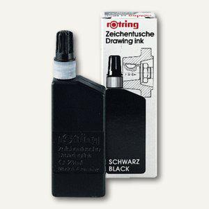 Rotring Zeichentusche für isograph/Variant, schwarz, 23 ml, S0194660 - Vorschau