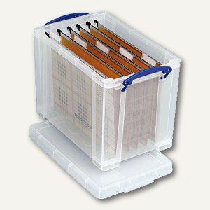 Really Useful Box Aufbewahrungsbox 19 Liter, 315 x 210 x 270 mm, transparent, 19C - Vorschau