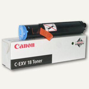 Canon Toner C-EXV18, ca. 8.400 Seiten, schwarz, 0386B002 - Vorschau