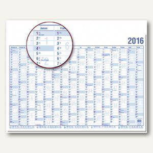 Güss Wandplaner DIN A0 quer, 120 x 84 cm, 16 Monate inkl. Schulferien, 16000 - Vorschau