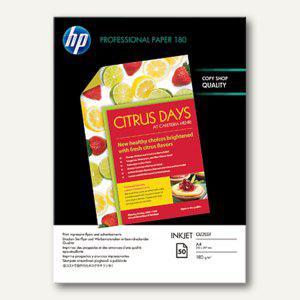 HP Glossy-Papier, beidseitig, DIN A4, 180 g/m², 50 Blatt, C6818A
