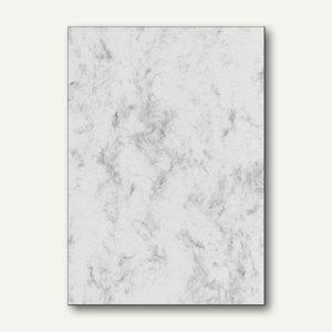 Sigel Designpapier Marmor, DIN A4, 90 g/m², grau, 100 Blatt, DP371 - Vorschau