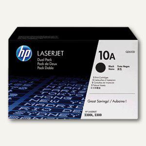 HP Toner Nr. 10A, schwarz für Laserjet 2300 - ca. 6.000 Seiten, Q2610A - Vorschau