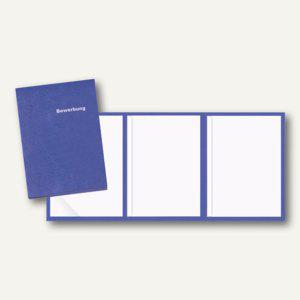Veloflex Bewerbungsmappe, A4, Karton, 3-teilig, blau, 10 Stück, 4943050 - Vorschau