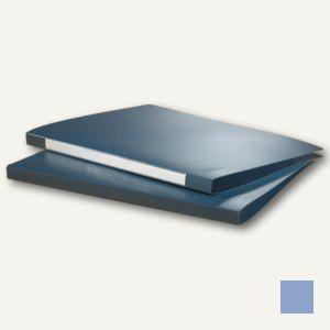 Durable Klemmhebelmappe DIN A4, PP, Füllhöhe 10mm, blau, 10 Stück, 2245-06 - Vorschau