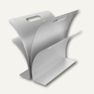 officio Zeitungsständer aus eloxiertem Aluminium