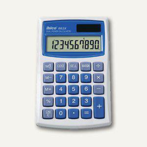 Ibico Taschenrechner 082 X, Solar- und Batteriebetrieb, IB410017 - Vorschau