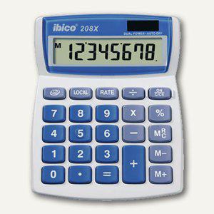 Ibico Tischrechner 208X, Solar- und Batteriebetrieb, IB410062 - Vorschau