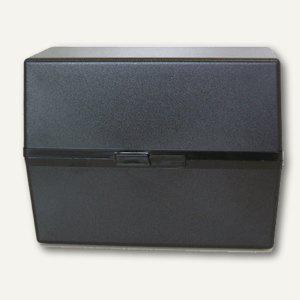 M&M Karteikasten DIN A5, schwarz, 66080301 - Vorschau