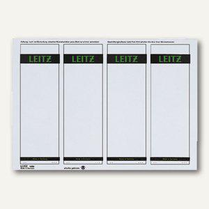 LEITZ Rückenschilder, PC-Beschriftung, breit/kurz, grau, 100 Stück, 1685-20-85 - Vorschau
