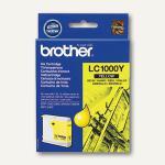 Brother Tintenpatrone gelb, LC1000Y