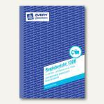 Zweckform Formular Regiebericht DIN A5 hoch, mit Blaupapier, 2 x 50 Blatt, 1306