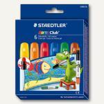 Staedtler Gelmalstifte NORIS CLUB, Basisfarben, Etui mit 6 Stiften, 2390C6