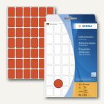 Herma Vielzweck-Etiketten, 16 x 22 mm, rot, 5 x 1.344 Stück, 2382