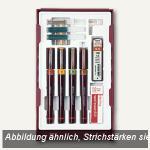 Rotring Tuschefüller Rapidograph College Set + Zubehör, 4er-Set, S0699570