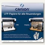 Canson Plotterrolle HiColor, 61 cm x 50 m, 90 g/qm, weiß, 872101