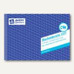 Zweckform Formular Wochenbericht DIN A5 Quer, 2 x 50 Blatt, 1311