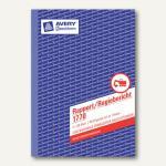 Formular Rapport/Regiebericht DIN A5, selbstdurchschreibend, 2x40 Blatt, 1770