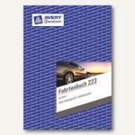 Zweckform Fahrtenbuch DIN A5 hoch, mit Jahresabrechnung, 40 Blatt, 223