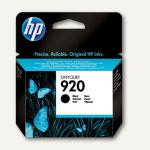 HP Tintenpatrone Nr.920, schwarz, CD971AE