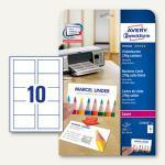 Zweckform Visitenkarten 85x54 mm, 2-seitig bedruckb., 270g/m², 100 St., C32026-10