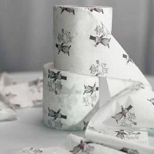 Toilettenpapier Bride & Groom (2 Stück)