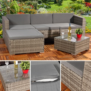 polyrattan sofa g nstig sicher kaufen bei yatego. Black Bedroom Furniture Sets. Home Design Ideas