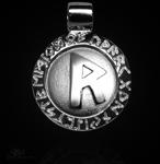 Runen-Amulett Raido ∅20 mm