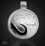 OM- Ursilbe aus 925/000 Sterling Silber