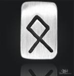 Runenplättchen/ Runenstein Othala 925/000 Sterling Silber