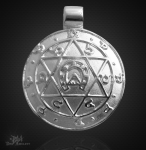 Jupiteramulett aus 925/000 Silber